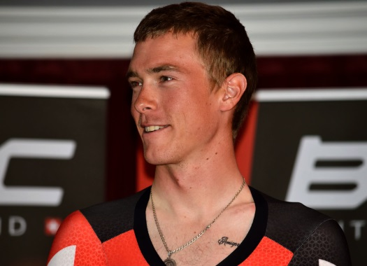 Rohan Dennis wins Australian TT for the third time in a row