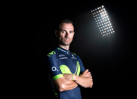 Alejandro Valverde recovers from surgery