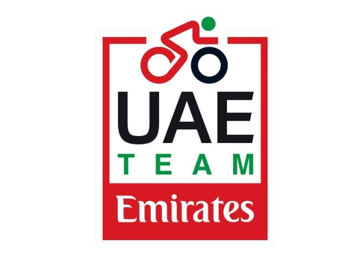Relay of the Pink Jersey in UAE-Team Emirates