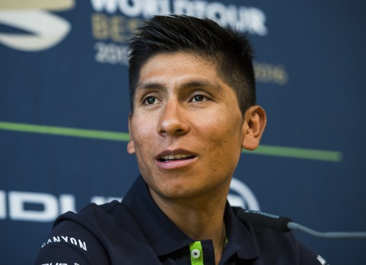 Nairo Quintana: Maybe I'll try to get a stage victory