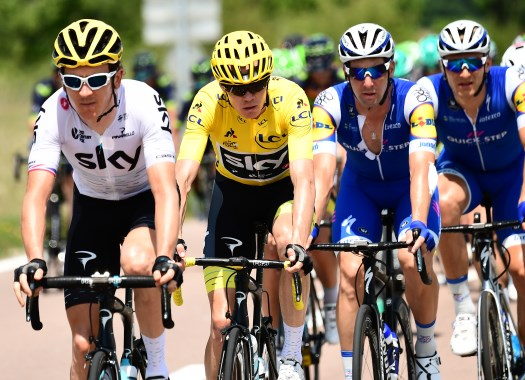 Tour de France - Chris Froome feared losing his Yellow Jersey after mechanical