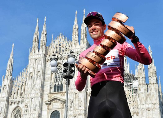 Tom Dumoulin hopes to win all three grand tours
