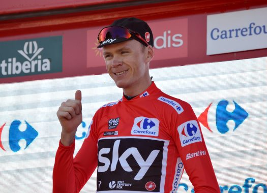 Vuelta a España - Chris Froome: I can't thank my teammates enough