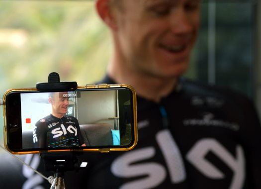 Feature: Chris Froome thrilled with first week at Vuelta a España