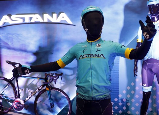 Astana presents kit and squad for 2018