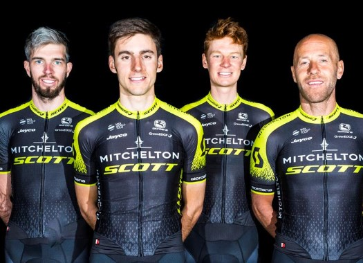 Orica-Scott changes to Mitchelton-Scott with fresh kits for 2018