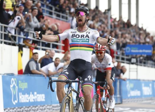 Peter Sagan after winning Paris-Roubaix: It's an amazing feeling