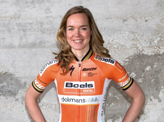 Anna van der Breggen: It was tactical, and in the end it was really hard