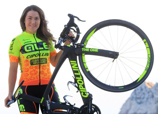 Chloe Hosking triumphs at first stage of Herald Sun Tour and tops GC