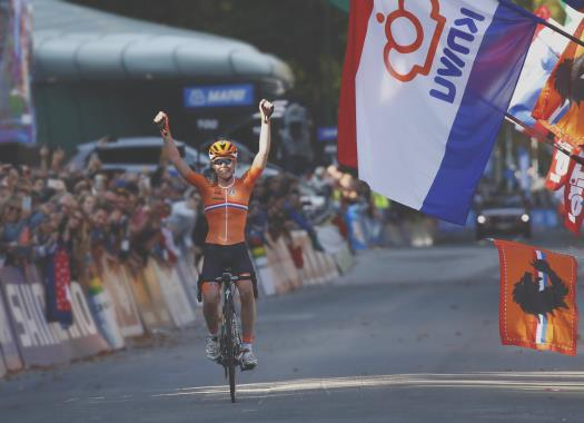 World Championships - Anna van der Breggen: I didn't expect to win like this