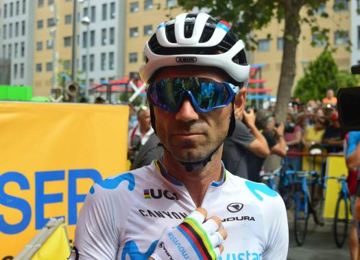 Vuelta a España - Alejandro Valverde: It wasn't my worst day but not the best either