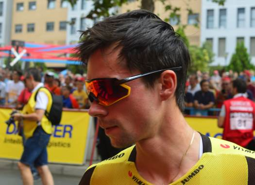 Vuelta a España - Primoz Roglic: I was unable to dodge the crash and hit a wall